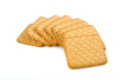 Tea biscuits Stock Photography