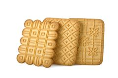 Tea biscuits Royalty Free Stock Photography