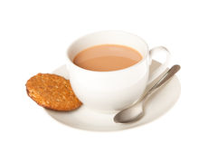 Tea and Biscuits Royalty Free Stock Image
