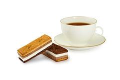 Tea Biscuits Royalty Free Stock Images