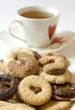 Tea biscuits Stock Images