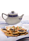 Tea biscuits - Biscotti da te' Stock Photography