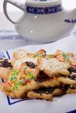 Tea biscuits - Biscotti da te' Stock Photography