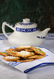 Tea biscuits - Biscotti da te' Royalty Free Stock Photography