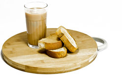 Tea Biscuits snacks stock photos