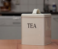 Tea box Royalty Free Stock Photo