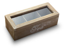 Tea box Stock Image