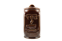 Tea box Stock Image