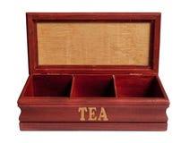 Tea box isolated Royalty Free Stock Photo