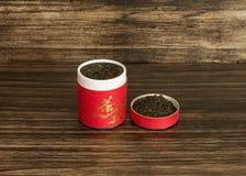 Tea in a box Royalty Free Stock Photos