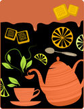 Tea break Royalty Free Stock Photography