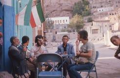 1975. Iran. Tea break Stock Images