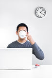 Tea break Royalty Free Stock Image