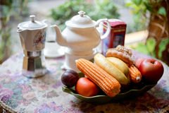 Tea Break. Afternoon tea break after meal Stock Images