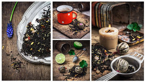 Tea brew Stock Images