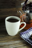 Tea and bun Royalty Free Stock Photography
