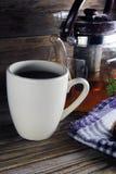 Tea and bun Royalty Free Stock Image
