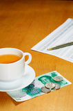 Tea bussiness Stock Photo