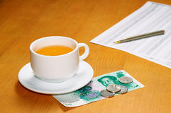 Tea bussiness Royalty Free Stock Photo