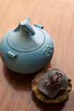 Tea caddy Stock Images