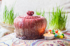 Tea caddy 2 Royalty Free Stock Images