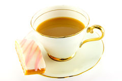 Tea and Cake Stock Photos