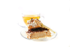 Tea and cake Stock Photography
