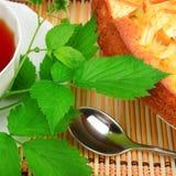 Tea and cake Royalty Free Stock Photos