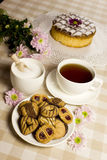 Tea cake biscuits Royalty Free Stock Images