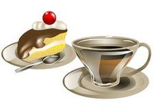 Tea and cake Royalty Free Stock Photo