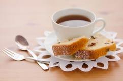 Tea with cake Stock Photo