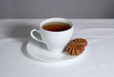 Tea and cake Royalty Free Stock Image
