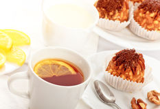 Tea With Cakes Royalty Free Stock Images
