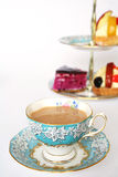 Tea and cakes Stock Photos