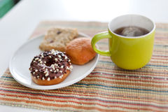 Tea and cakes Royalty Free Stock Photo