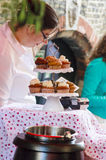 Tea cakes Royalty Free Stock Images