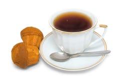 Tea with cakes Stock Photo