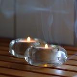 Tea candles Stock Photography