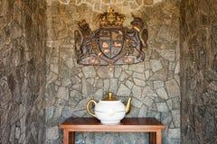 Tea Castle, Nuwara Eliya Stock Photo