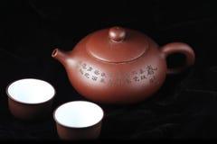 Tea ceremony. View of chinese tea ceremony Stock Photography