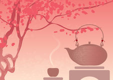 Tea Ceremony royalty free illustration