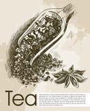 Tea ceremony background Royalty Free Stock Photography
