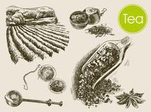 Tea ceremony background Royalty Free Stock Image