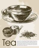 Tea ceremony background Stock Photos