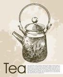 Tea ceremony background Stock Images