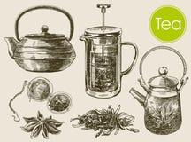 Tea ceremony background Stock Photo