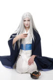 Tea ceremony From the fantasy Royalty Free Stock Photography