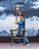 Tea ceremony in Huanglongxi,chengdu,china Stock Image
