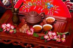 tea ceremony in Japan stock image