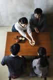 Tea ceremony japanese culture Communication Stock Photo
